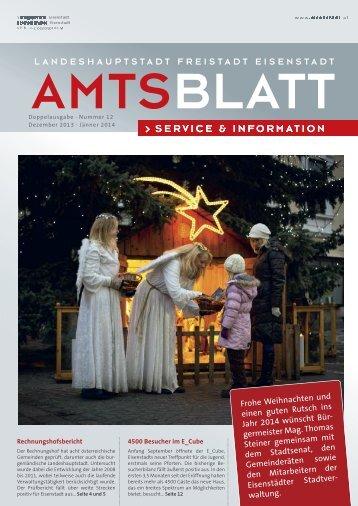 Ausgabe 12 2013 - Eisenstadt
