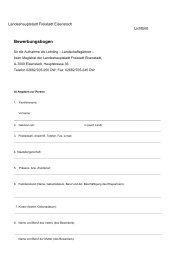 Bewerbungsbogen Gärtnerlehrlinge - Eisenstadt