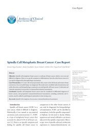 Spindle Cell Metaplastic Breast Cancer - eJManager.com
