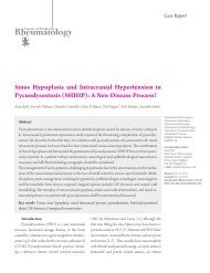 Sinus Hypoplasia and Intracranial Hypertension in ... - eJManager.com