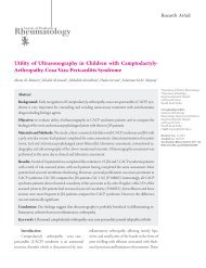 Utility of Ultrasonography in Children with ... - eJManager.com