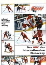 Das ABC des internationalen Eishockey - Theorie