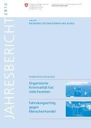 Jahresbericht 2012 - EJPD - admin.ch