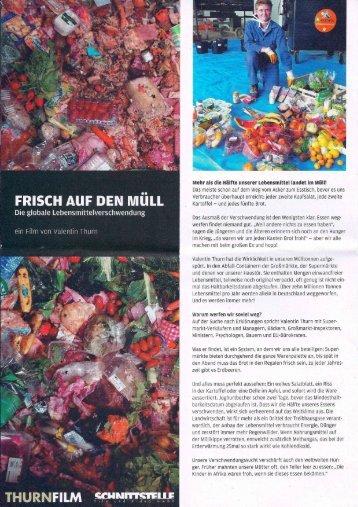PDF: Flyer TASTE THE WASTE - desainz.de