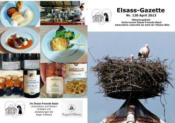 Elsass-Gazette - Elsass-Freunde Basel
