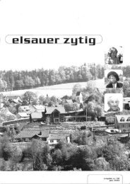 I C elliiialier zytig ) - Elsauer Zytig