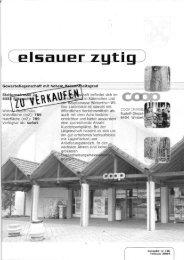 C elliialler zytig j - Elsauer Zytig