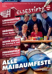 Gemeinde Kirchlengern - ELSESTIFTE