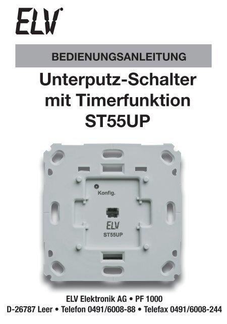 ST55UP Schalter mit Timerfunktion