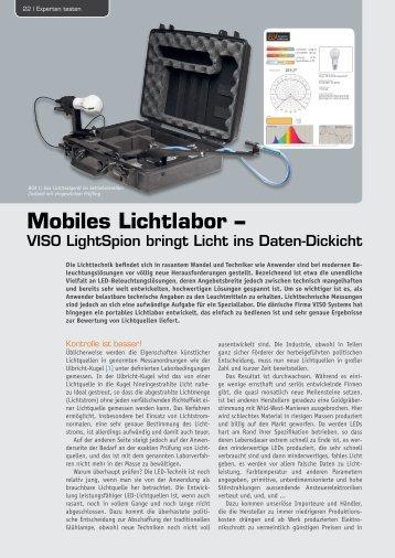 Mobiles Lichtlabor – - ELV