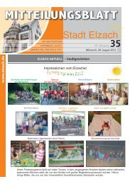 KW35 - Stadt Elzach