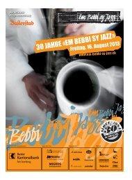 Programm - Em Bebbi sy Jazz