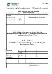 3.5.1 Baubeschreibung zur Erstellung der ... - Stadt Emden