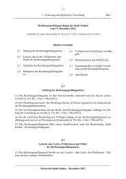 14-1 Rechnungsprüfungsordnung - Stadt Emden
