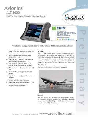 Datasheet_Avionics_Aeroflex_ALT-8000 1