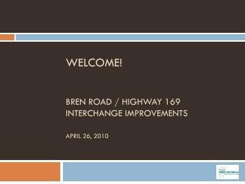 Public meeting presentation: April 26, 2010 - City of Minnetonka