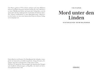 Leseprobe - Emons Verlag