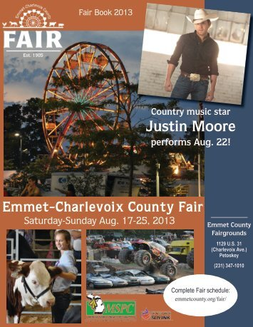 2013 Fair Book - Emmet County