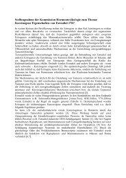 Stellungnahme der Kommission Hormontoxikologie zum Thema ...