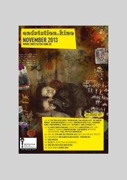 Monatsübersicht als PDF - Endstation Kino