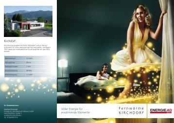 Fernwärme KirchdorF - Energie AG Oberösterreich