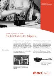 Die Geschichte des Bügelns - Museum für Energiegeschichte(n)