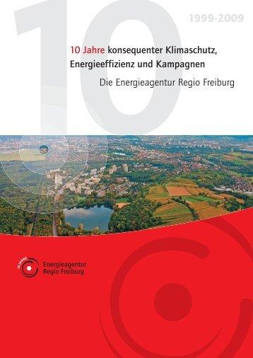 10 Jahre konsequenter Klimaschutz, Energieeffizienz und ...