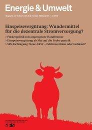 Download E&U 2/2008 (pdf) - Schweizerische Energie-Stiftung