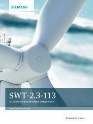SWT-2.3-113 - siemens
