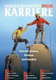 Energie & Karriere: Das E&M Magazin - EnergyRelations