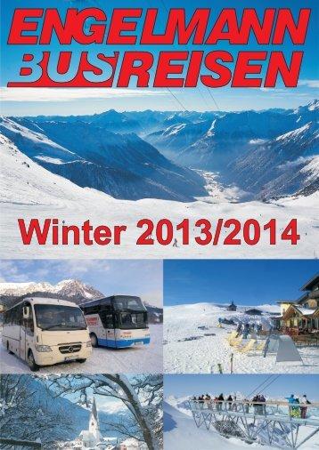 Winter 2013/2014 - Engelmann Reisen
