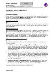 Merkblatt Warzen - Ennepe-Ruhr-Kreis