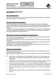 Merkblatt Salmonellen - Ennepe-Ruhr-Kreis