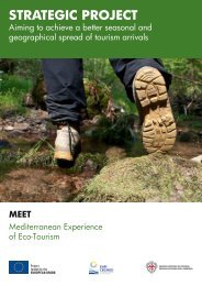 Mediterranean Experience of Eco-Tourism (MEET) - enpi cbcmed