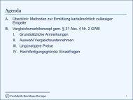 Dr. Benedikt Wolfers, Freshfields Bruckhaus Deringer