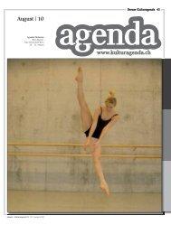 www.kulturagenda.ch August | 10
