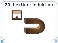 10. Lektion Induktion
