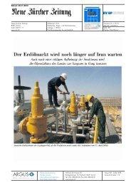 Der Erdölmarkt wird noch länger auf Iran warten - Erdöl-Vereinigung