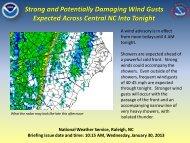 Details... - National Weather Service Eastern Region Headquarters