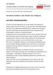 Juni-Wettbewerbsfrage - Erlebnisraum Tafeljura