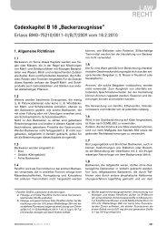 LAW RECHT - ernährung|nutrition