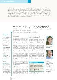 Vitamin B12 (Cobalamine)