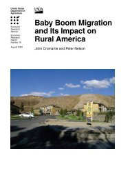 Baby Boom Migration and Its Impact on Rural America - Economic ...