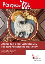 Orientierungshilfen - Erzbistum Paderborn