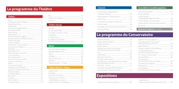 programme théâtre saison 2013-2014.pdf - Esch sur Alzette