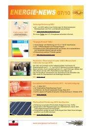 Juni/Juli 10 - OÖ Energiesparverband