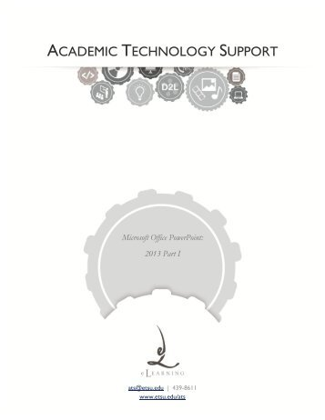 ACADEMIC TECHNOLOGY SUPPORT