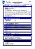 EG-Sicherheitsdatenblatt - Page 3