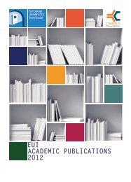Download the PDF - European University Institute