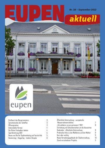 aktuell Nr. 38 - Eupen